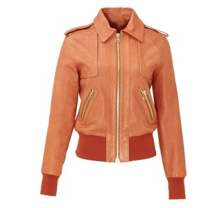Rachel Zoe Cinnamon Leather Jacket
