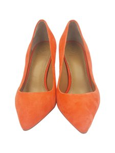Tory Burch Orange Pumps