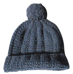 Abercrombie & Fitch 100% Wool CABLE KNIT HAT beanie cap A&F ski rate