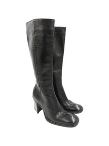 CoSTUME NATIONAL Leather Leather Black Boots
