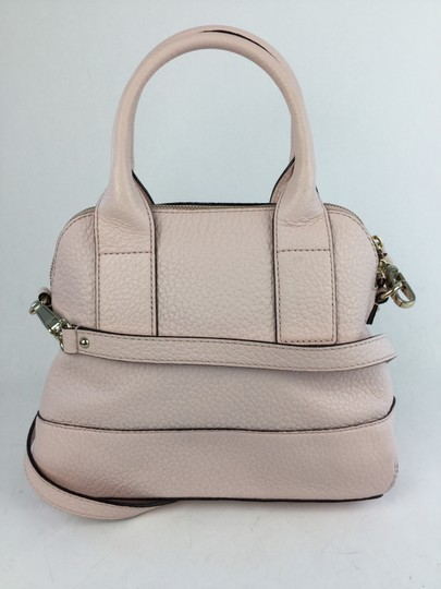Kate Spade Southport Ave Jenny Pebbled Satchel in Baby Pink