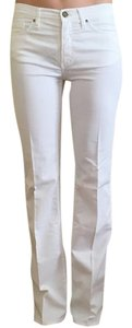 Gianfranco Ferre Boot Cut Pants White