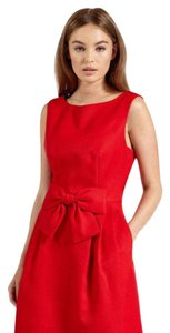 Ted Baker short dress Red Bow Waist on Tradesy