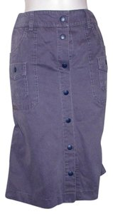 See by Chlo Skirt purple gray