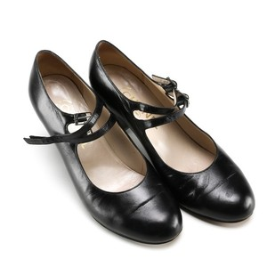Chanel Made In France Leather black Pumps