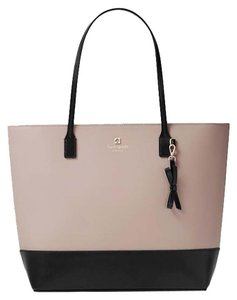 Kate Spade Tote in Mousse frost/ black