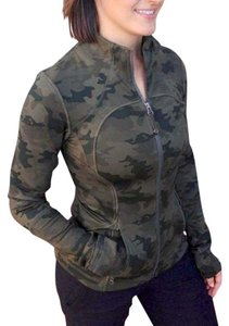 Lululemon Lululemon Camo Savasana Fatigue Green Forme Jacket Size 6 Small