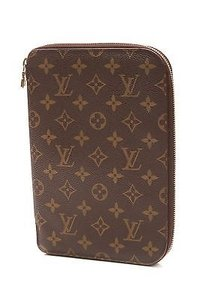 Louis Vuitton Louis Vuitton Monogram Canvas Zip Around Planner
