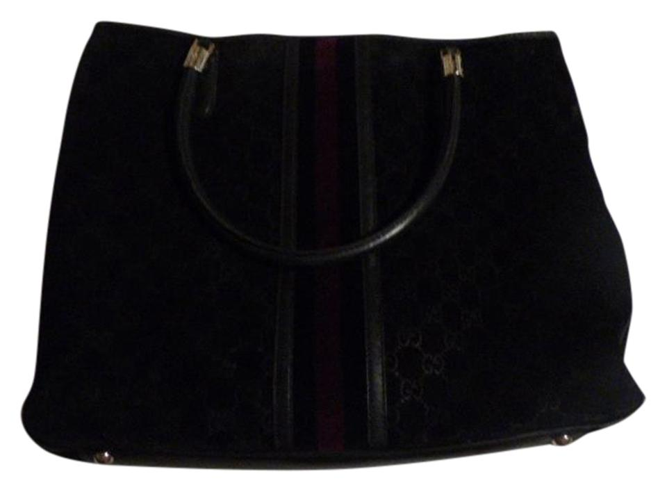 0db0df69980028 Gucci Bold Gold Accents Satchel/Tote Style Excellent Vintage Great Everyday  Abbey D Ring Line ...