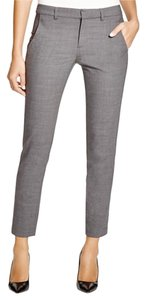 Vince Trousers Strapping Wool Trouser Pants Gray