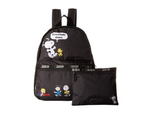 LeSportsac Snoopy 2 Pieces Limited Edition Rare Nylon Backpack