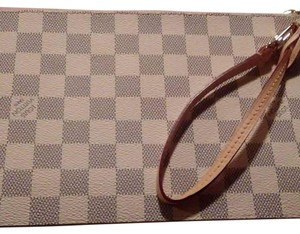 Louis Vuitton Azur Neverfull Pouch Wristlet