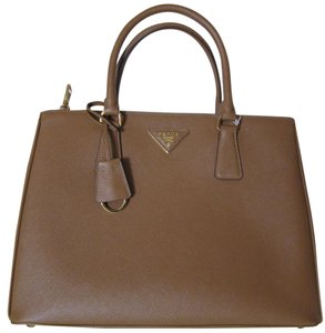 Prada Satchel in Caramel