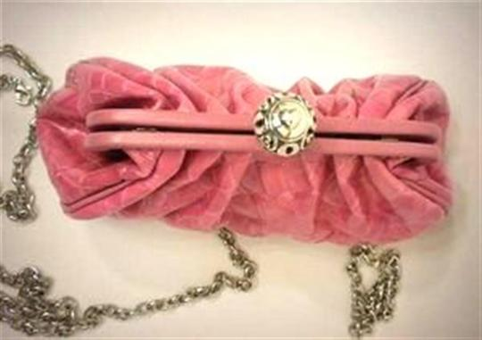 Brighton City E9528f Power Of Patent Leather Pink / Violet Clutch