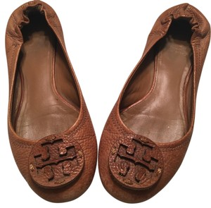Tory Burch Chestnut brown Flats