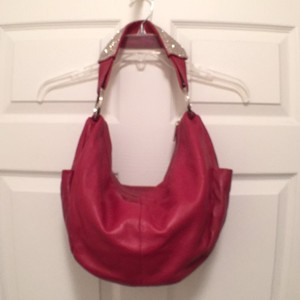 DX touch Hobo Lambskin Leather Shoulder Bag