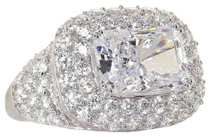 Victoria Wieck Victoria Wieck 6.87ct Absolute Super Radiant-Cut Sterling Silver Ring