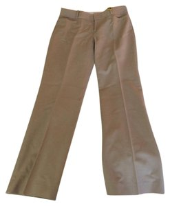 Banana Republic Business Casual Flat Front Ankle Trouser Pants Stone or Khaki
