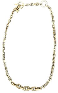Michael Kors Michael Kors Rose Gold Brilliance Crystal Pace Chain Link Necklace