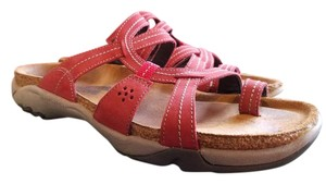 Naot Red/brown Sandals