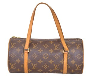 Louis Vuitton Lv Papillon 26 Satchel in Brown