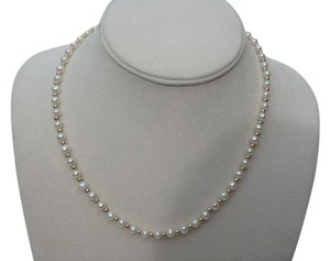 Other 4.5-5 mm pearl and gold bead necklace 17
