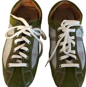 Prada Green and silver Athletic