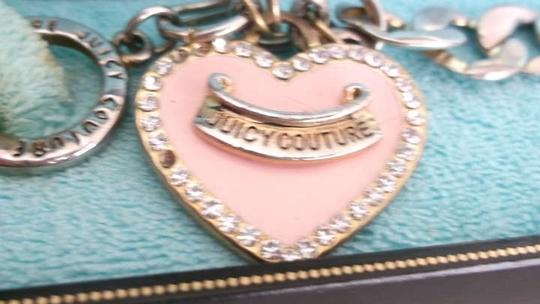 Juicy Couture Juicy couture bracelet with heart charm