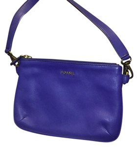 Fossil Purple Messenger Bag