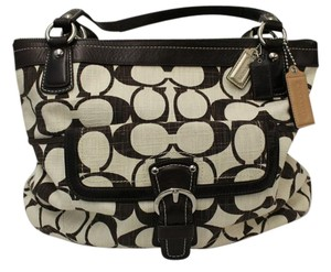 Coach Tote in brown/natural
