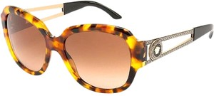 Versace NEW VERSACE (VE 4304) DESIGNER HAVANA BR. SUNGLASSES, MADE IN ITALY