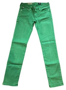 AG Adriano Goldschmied Colored Skinny Distressed Skinny Jeans