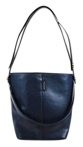 Mulberry Navy Leather Ghw Small Kite Shoulder Bag