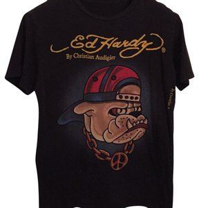 Ed Hardy T Shirt Black