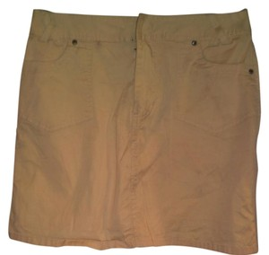 Sonoma Mini Skirt Beige