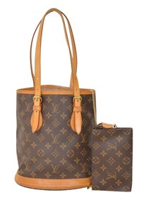 Louis Vuitton Lv Bucket Pm Tote in Brown