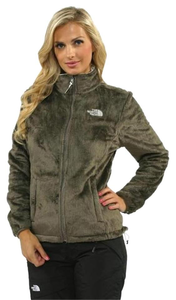 eb8670147 The North Face Weimaraner Brown Osito Jacket Activewear Size 0 (XS) 35% off  retail