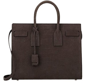 Saint Laurent Ysl Satchel in gray