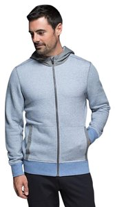 Lululemon Hoodie Workout Gym Blue & Gray Jacket