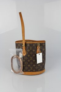 Louis Vuitton Bucket Pm Bucket Tote in Monogram