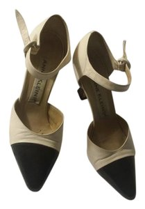 Anne Klein Spectator Black & White Pumps