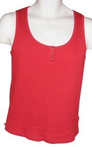 Lauren Ralph Lauren New Cotton Snaps Tags Top Red