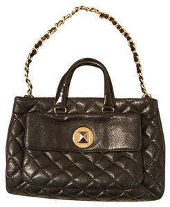 Kate Spade Leather Quilted Chain Shoulder Bag