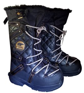 Sorel Winter Waterproof Black Boots