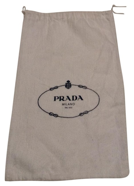 Item - Dust Only White Cotton Weekend/Travel Bag