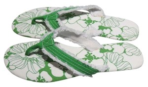 Capelli New York Green/White Sandals