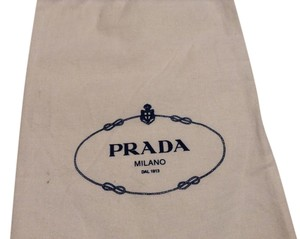 Prada Dust Sleeper White Travel Bag