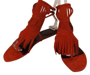 Gucci Red Flame Sandals