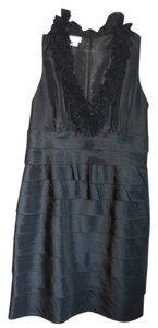 London Times V-neck Date Dress