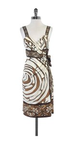 Diane von Furstenberg short dress Silk Sleeveless Wrap on Tradesy